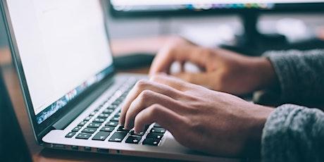 Online Write Now - October 2021 tickets