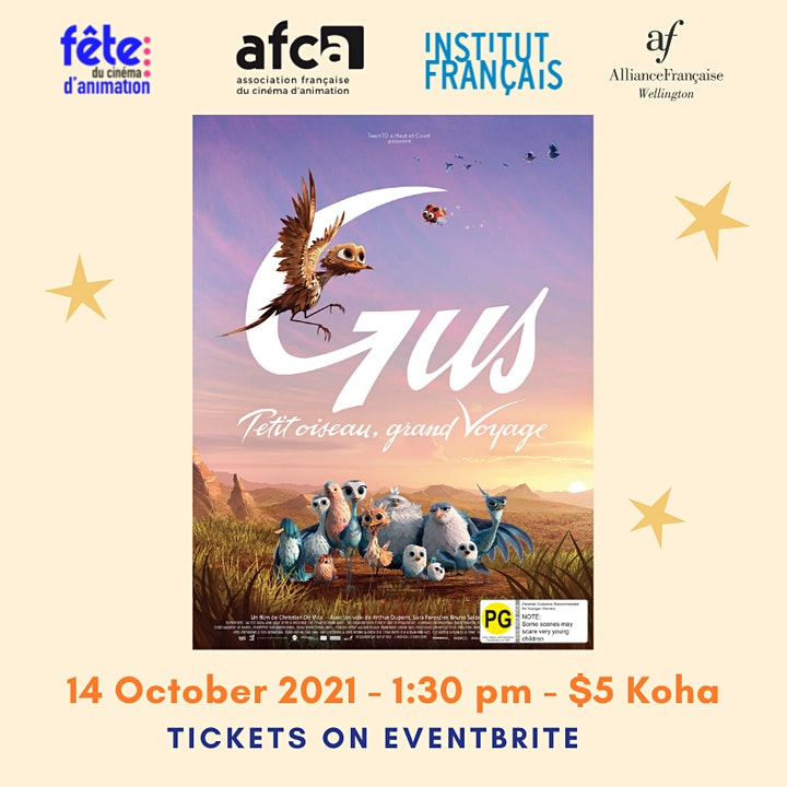 Gus : petit oiseau, grand voyage - Animated Film Festival AFW image