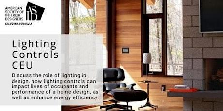 CEU-Lighting Controls as a Component of Interior Design tickets