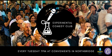 The Experimental Comedy Club - October 12th 2021 tickets