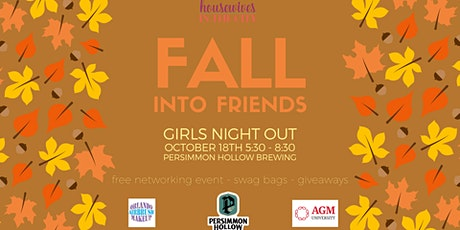 Orlando Girl's Night Out  at Persimmon Hollow Brewing - Fall into Friends tickets