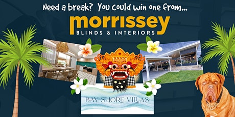 Morrissey Blinds and Interiors 5th Birthday Party and Holiday Giveaway! tickets