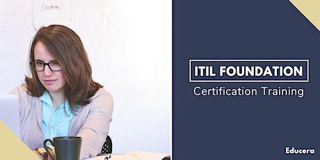 ITIL Foundation Certification Training in  Bonavista, NL tickets