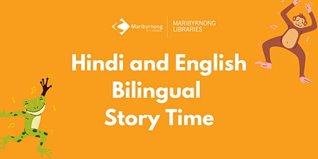 Hindi and English Bilingual Story Time on Zoom tickets