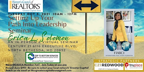 WCRGCA - Setting Up Your Path Into Leadership (Hybrid Event) tickets