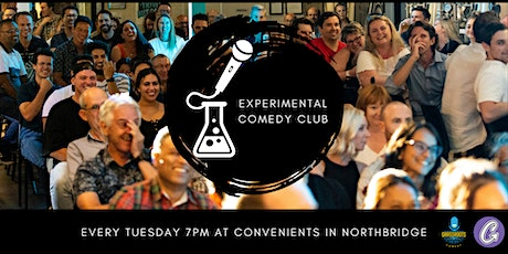 The Experimental Comedy Club - October 19th 2021 tickets