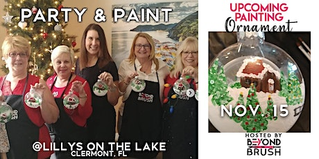Sip & Paint Night Party - Ornament Decorating tickets