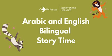 Arabic and English Bilingual Story Time on Zoom tickets