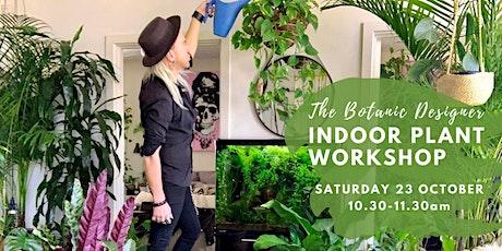 The Botanic Designer - Indoor Plant Workshop - Aldinga Library tickets