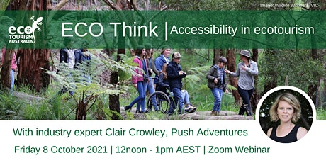 ECO Think: Accessibility in ecotourism tickets