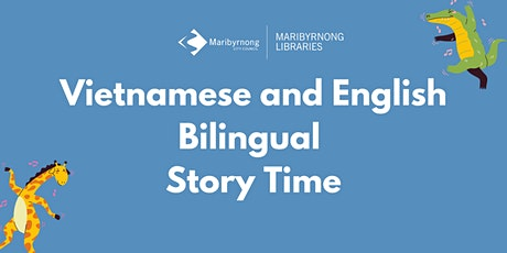 Vietnamese and English Bilingual Story Time on Zoom tickets
