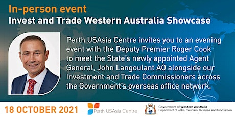 Invest and Trade Western Australia Showcase tickets