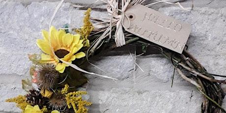 Autumn Wreath Making Workshop:  Autumn Glory tickets