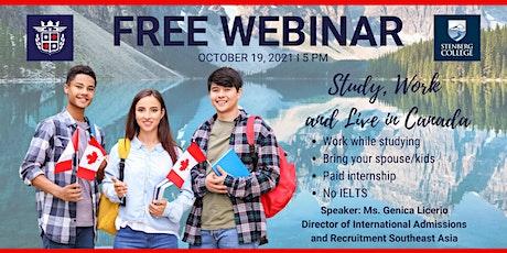 Free Webinar Featuring Stenberg College tickets