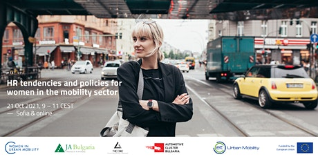 HR Tendencies and Policies for Women in the Mobility Sector tickets