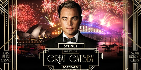 NYE Sydney   Great Gatsby Boat Party 2021/22 tickets