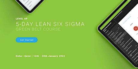 Lean Six Sigma Green Belt Training Course tickets