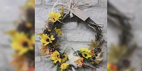 Autumn Wreath Making Workshop tickets