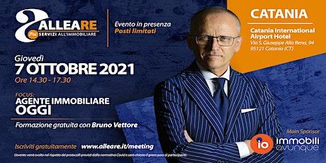"""TOUR  ALLEARE CATANIA CON BRUNO VETTORE  """"AGENTE IMMOBILIARE, OGGI"""" biglietti"""