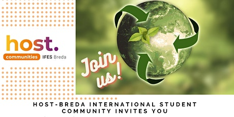 """""""Green Planet Dinner"""" with a talk on """"Sustainability & Believe"""" HOST-Breda tickets"""