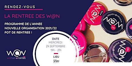 La Rentrée des Women@Nantes : AG et programme de l'année ! billets