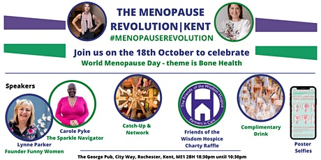 The Menopause Revolution|Kent - Our first World Menopause Day Party... tickets