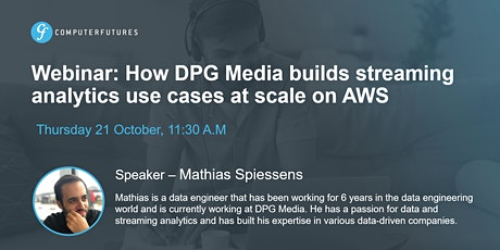 How DPG Media builds streaming analytics use cases at scale on AWS tickets