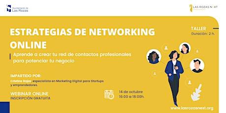 Webinar Emprende: Estrategias de networking online. entradas