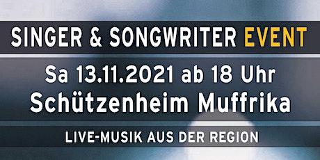 Singer & Songwriter Event Tickets