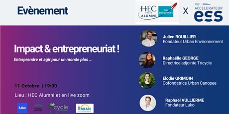 Impact & entrepreneuriat billets