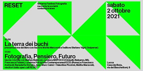RESET. Sistema Festival Fotografia  | Tavola rotonda biglietti
