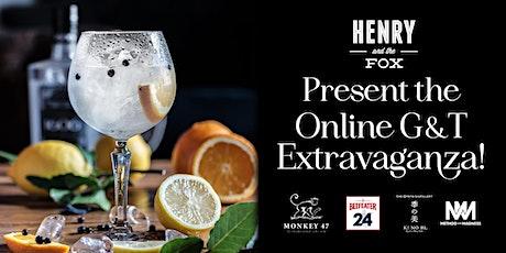 Online Gin & Tonic Extravaganza tickets