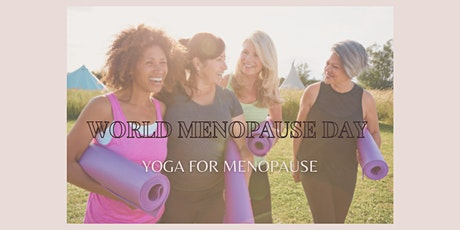 Yoga For World Menopause Day tickets