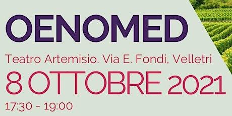 Oenomed: presentazione del progetto biglietti