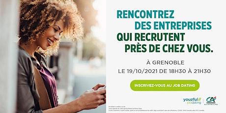 Job Dating à Grenoble : décrochez un emploi ! billets