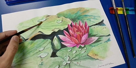 Watercolour Painting - Beginner  starts Dec 7 (8 sessions) tickets