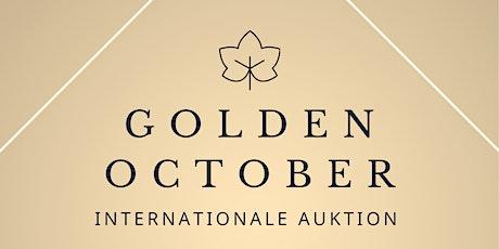 Golden October - Internationale Kunst und Antiquitäten Auktion Tickets