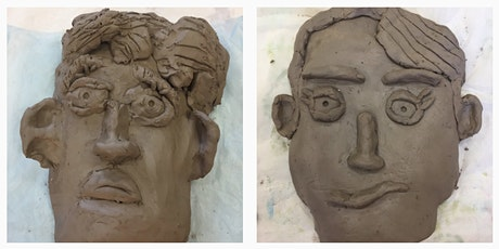 Clay Self-Portraits, Holiday Family Art Class for Kids tickets
