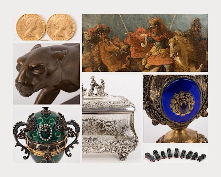 Golden October - Internationale Kunst und Antiquitäten Auktion: Bild