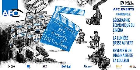 Paris Images 2021 - Conférences AFC billets