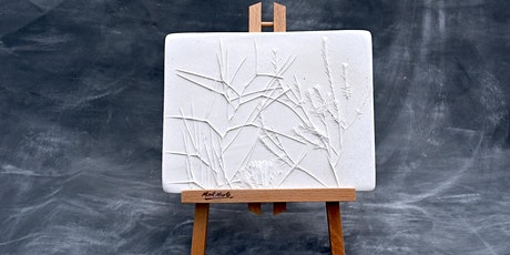 Pressed Plants Plaster Casting, Holiday Family-Friendly Art Class tickets