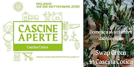 Cascine Aperte Milano - Swap Green in Cascina Cotica biglietti