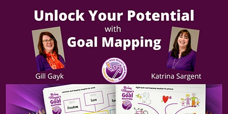 Unlock Your Potential with Goal Mapping - November tickets
