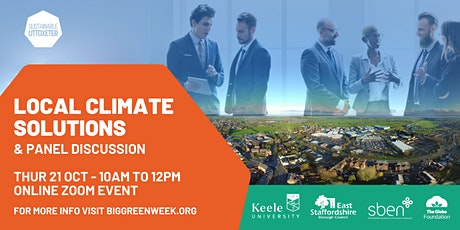 Local Climate Solutions & Panel Discussion tickets
