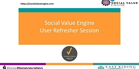 Social Value Engine Group User Training Session tickets