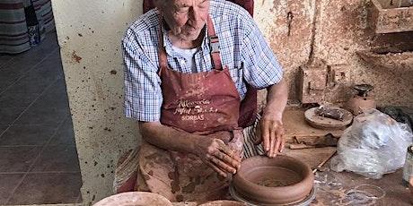 Copia de Pottery Classes at Alfareria Juan Simon, October 22 entradas