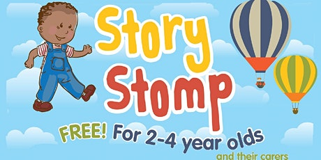Story Stomp at Rugby Library (limited numbers) tickets