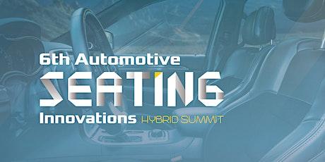 6th Automotive Seating Innovations Hybrid Summit entradas