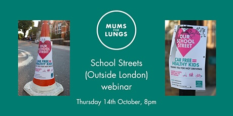 Mums for Lungs: School Streets (Outside London) tickets