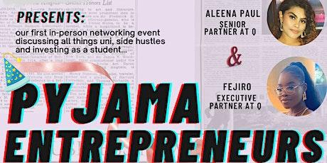 LIVE networking event- The pyjama entrepreneur tickets